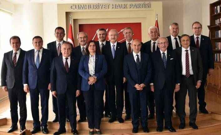 CHP'li Başkanlar Ankara'da buluştu: Böcek de katıldı