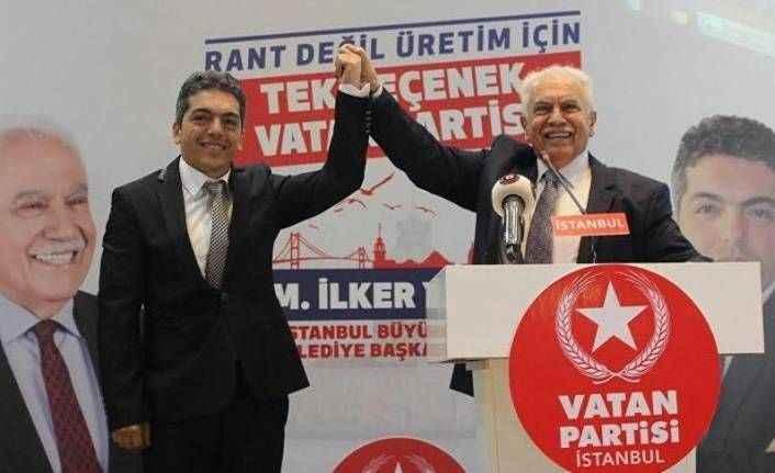 Vatan Partisi İstanbul'da seçime girecek