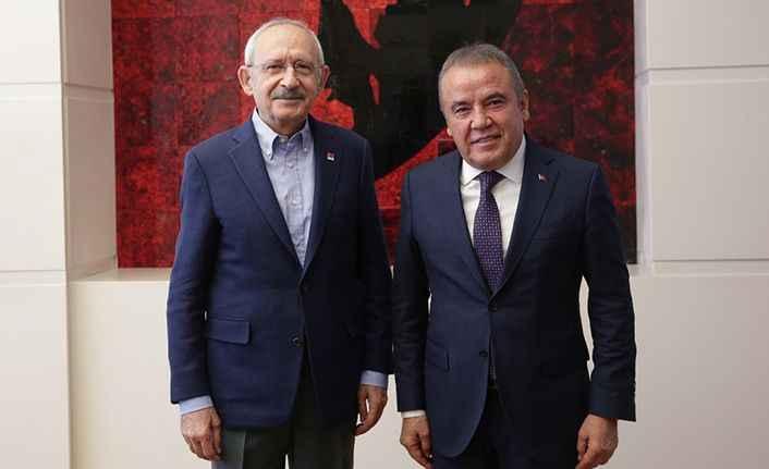 Başkan Böcek Ankara'da: 'Herşey çok güzel olacak'