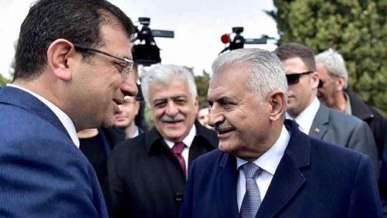 CHP'den Binali Yıldırım'a tepki: Ekrem İmamoğlu'nun mazbatası çalındı