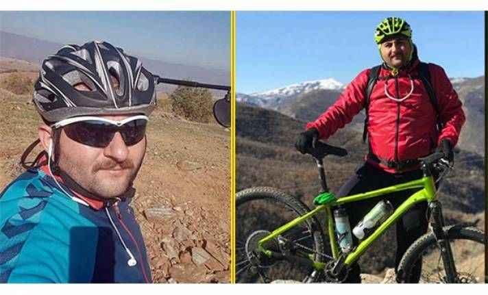 Bisikletli öğretmenin feci sonu: Metrelerce yüksekten...