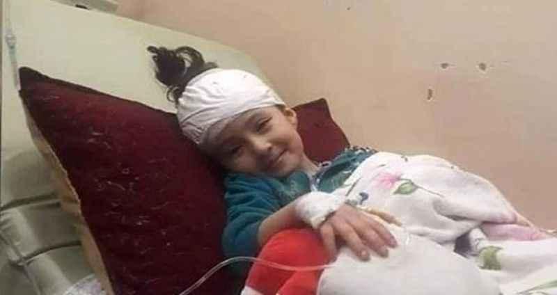 5 yaşındaki Filistinli Ayşe hayata tek başına veda etti