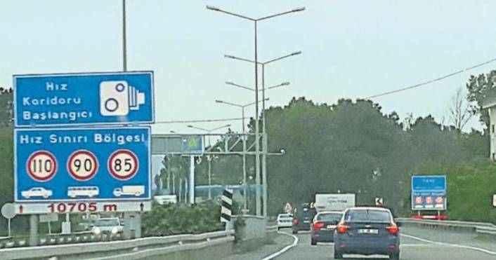 Antalya'da araçların hızı 7 bin kamera ile izlenecek