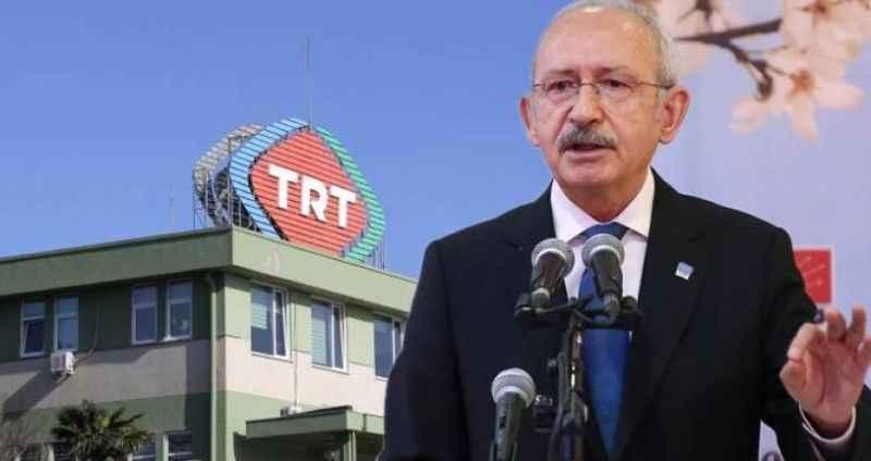 """Kılıçdaroğlu'nun """"istihdam fazlası personel"""" iddiasına TRT'den açıklama"""