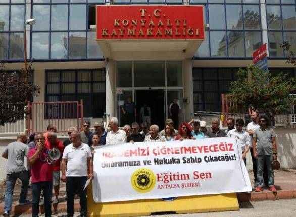Antalya'da Milli Eğitim Müdürü'nden öğretmenlere hakaret