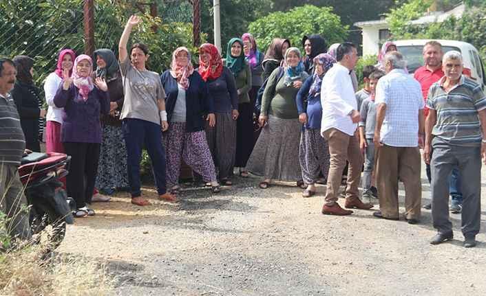Çıplaklı'da mahalle halkının baz istasyonu isyanı!