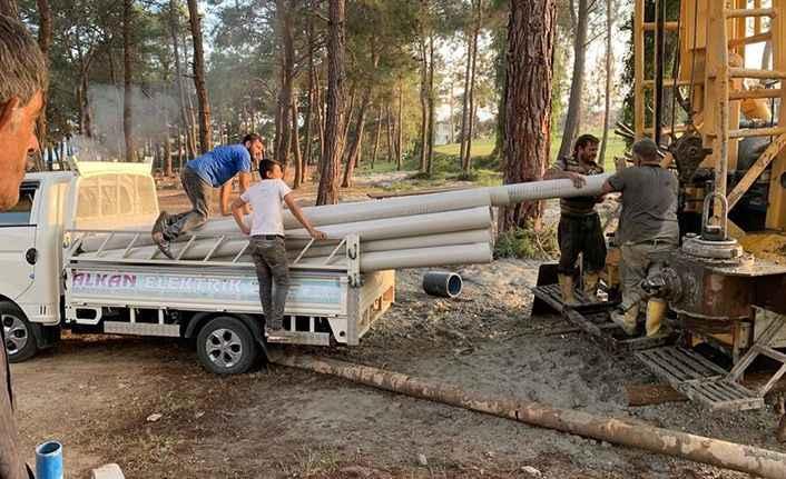 Alanya'da İncekum ve Payallar sahalarının su sorunu çözüldü