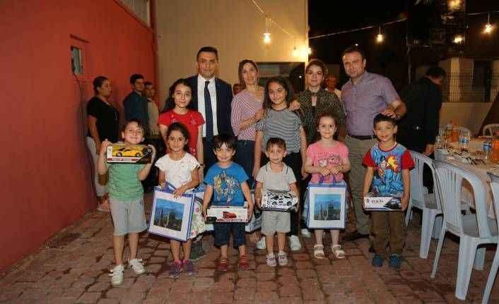 Emniyet Müdürü Ulucan, şehit ailesi ve polislerle bir araya geldi