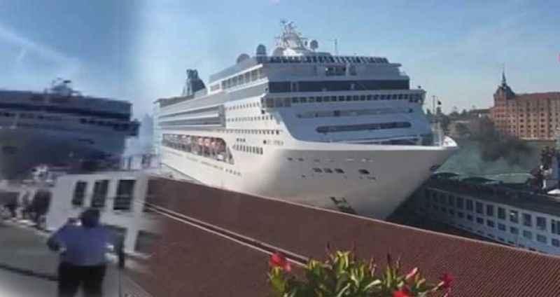 Dev cruise gemisi kontrolden çıktı: Yaralılar var!