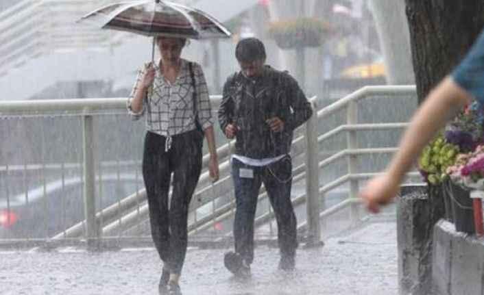 Meteoroloji yağmur için saat verdi!