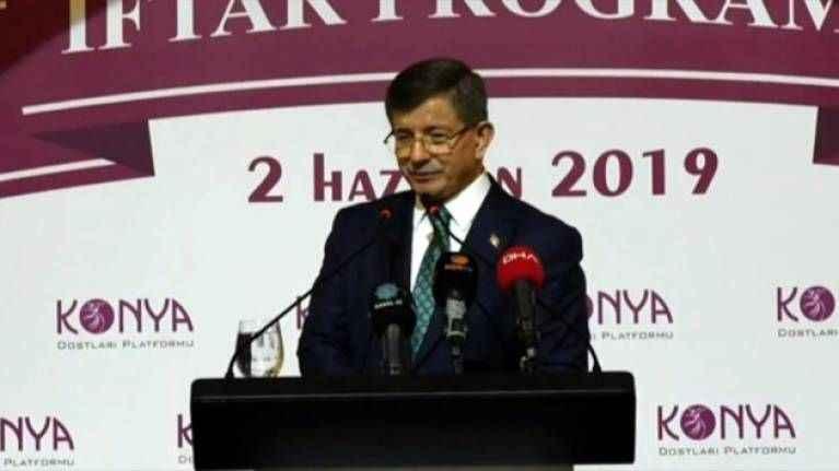 Davutoğlu'ndan yeni parti çağrısı: Yeni bir hal ile hallenelim