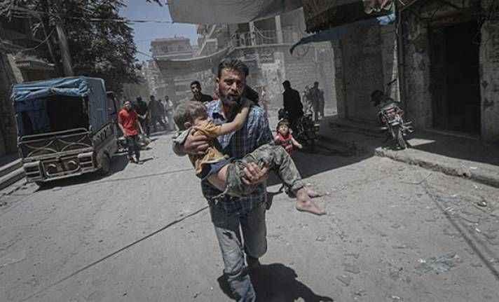 Esad İdlib'de 231 sivili öldürdü