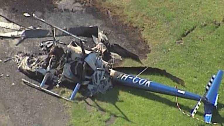 Helikopter faciası: 3 ölü