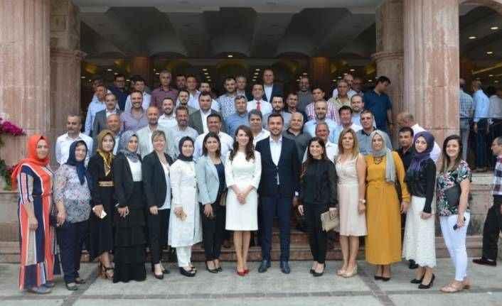 Alanya AK Parti bayramlaştı