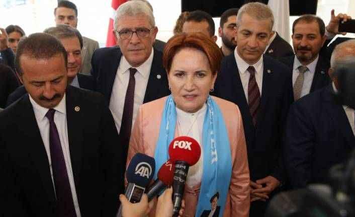 Akşener: Sayın Erdoğan bu defa amenna diyecek mi?