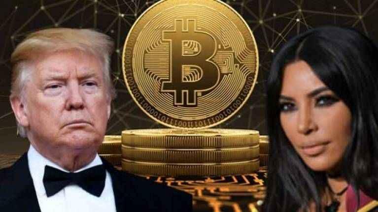 Bitcoin popülerlikte Trump ve Kardashian'ı geçti