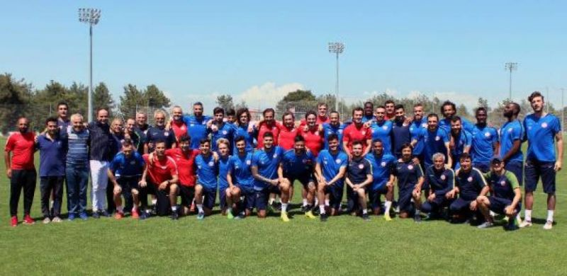Antalyaspor'da yeni sezon hazırlığı