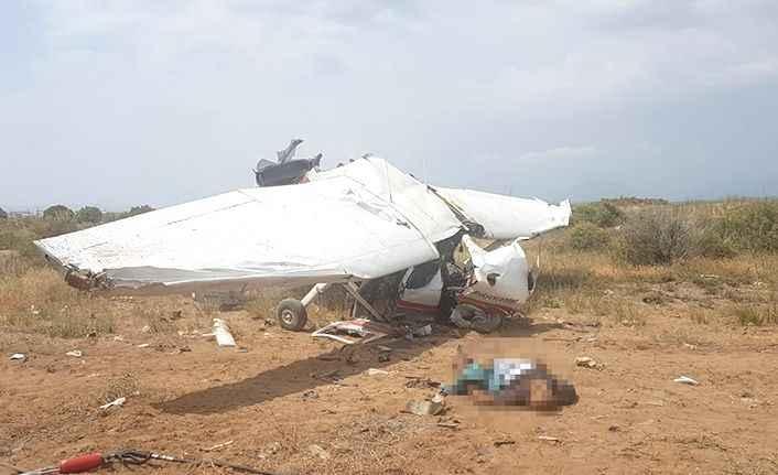 Manavgat'ta eğitim uçağı düştü: 2 ölü