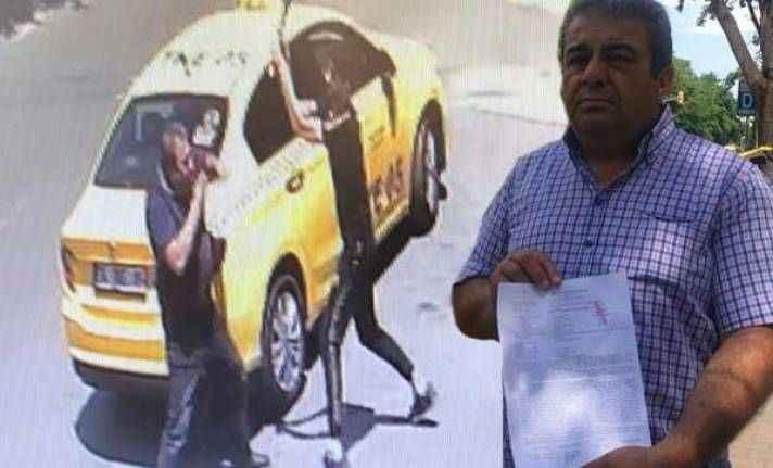 Beylikdüzü'nde darp edilen taksici konuştu