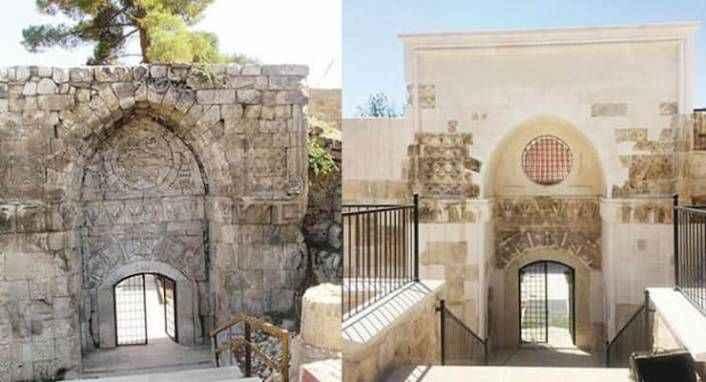 Antalya'da restorasyon: 800 yıllık kapı 'yenisiyle' değiştirildi