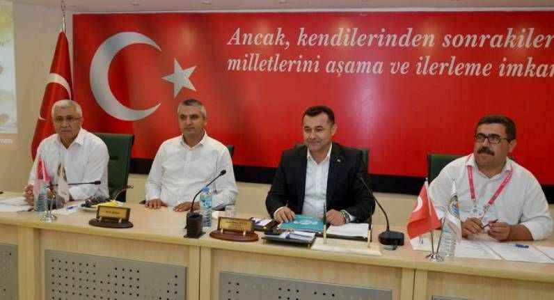 Alanya Belediyesi Haziran ayı meclis toplantısı yapıldı