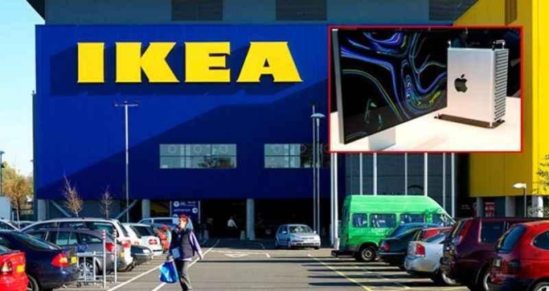 IKEA, Apple'ın 35 bin TL'lik bilgisayarı ile böyle dalga geçti