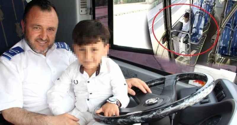 Akılalmaz olay! Ailesi 5 yaşındaki Abdullah'ı halk otobüsünde unuttu