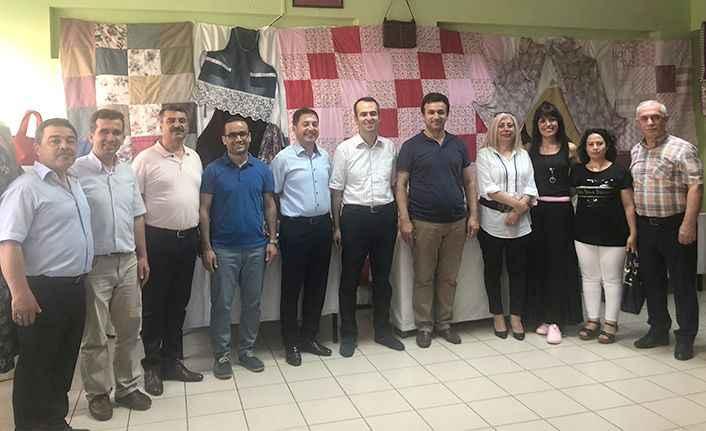 Alanya'da Melahat Seher İlkokulu'nun sergi heyecanı!
