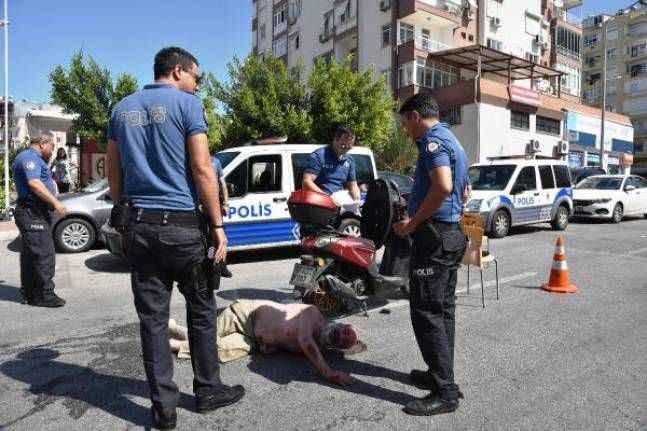 Otomobil ve motosiklet gasbetti, polise 'Size gelecek mermilere siper olayım' dedi