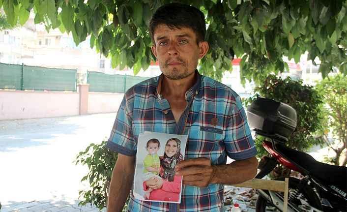 Alanya'da genç adamın dramı! Eşini ve çocuklarını arıyor