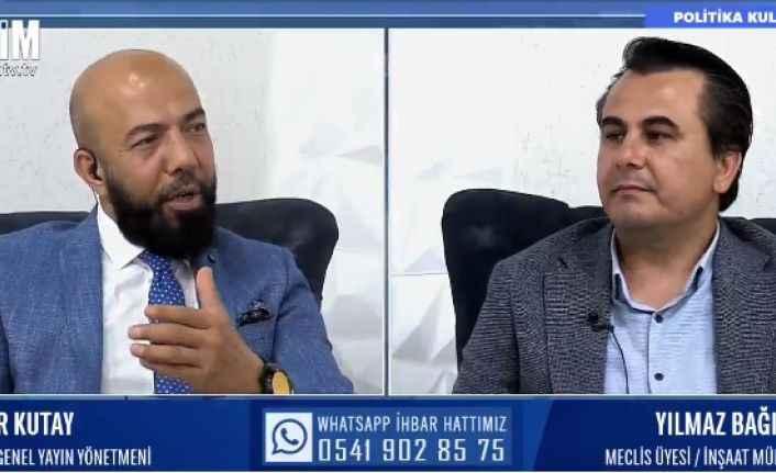 CHP'li Bağışlar'dan eleştirilere yanıt: 'Adem Başkan'a düşman değiliz'