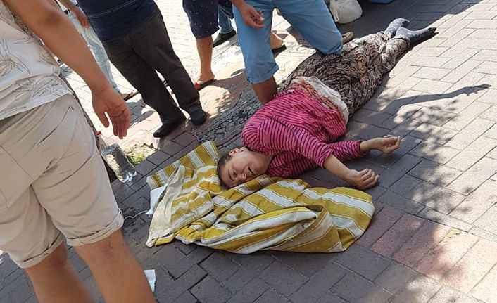 Alanya'da bir anda fenalaşıp yere yığılan kadından haber geldi!
