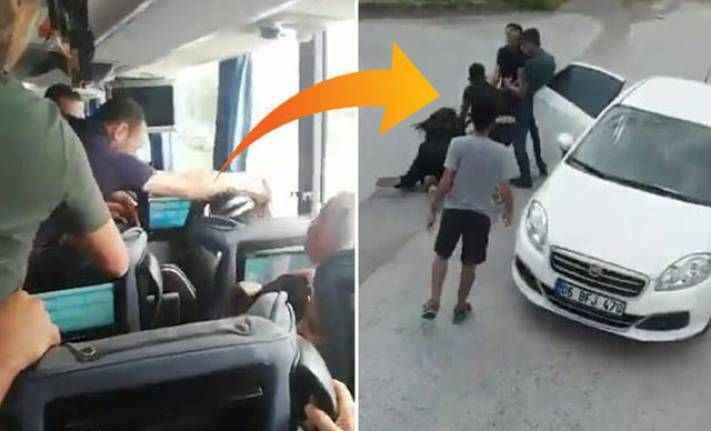 Dövülerek otobüsten indirilen kadın olayında flaş gelişme