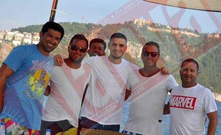 Juventuslu yıldız Alanya'da tatilde