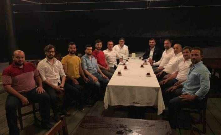 Toklu İstanbul'da yaşayan Rizelilerle buluştu
