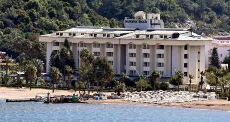 Katar Şeyhi'nin Marmaris'teki lüks oteli kaderine terk edildi