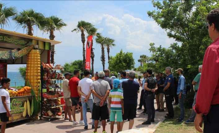 Antalya'da dünyaca ünlü sahilde yıkım gerginliği