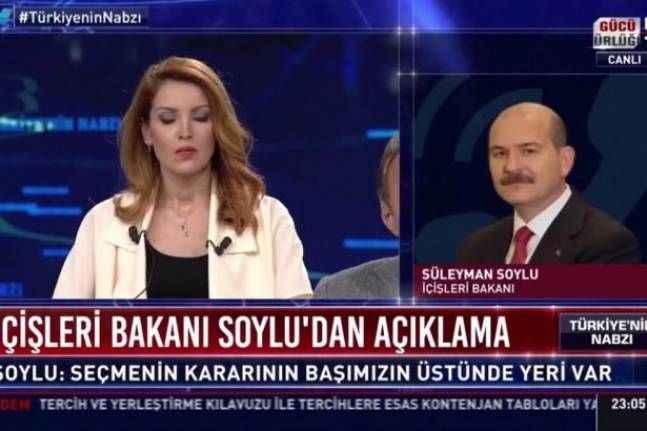 Nagehan Alçı ile Süleyman Soylu'dan canlı yayında şok tartışma!