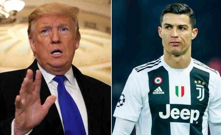 Trump bu kez de Ronaldo'ya sardı