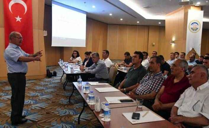 Bursalı başkanlar Alanya'da toplandı