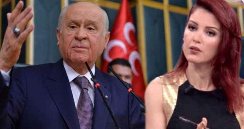 Bahçeli'den, Nagehan Alçı'nın canlı yayındaki iddiasına çok sert yanıt