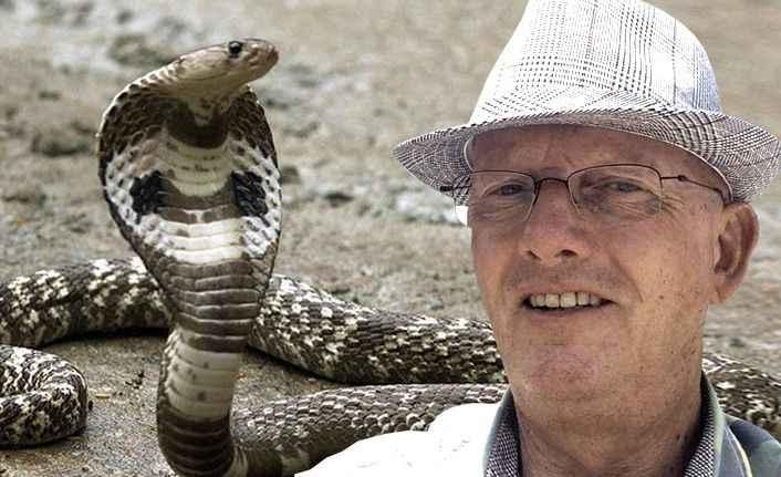 Alanya kırsalında yılan paniği