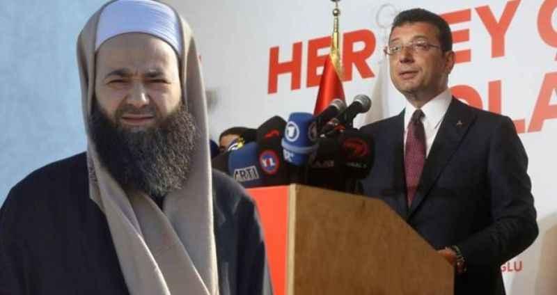"""Cübbeli Ahmet'in """"İmamoğlu'na oy vermek haramdır"""" sözlerine yanıt verdi"""