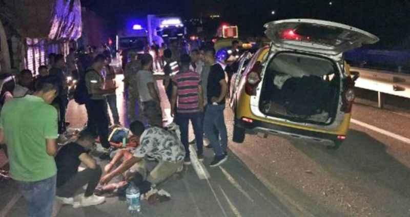 Korkunç kaza! Terhis olan askerlerin sevinci yarıda kaldı