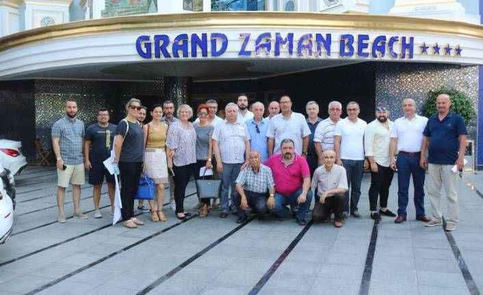 Alanya'da turizmciler istişareye devam ediyor