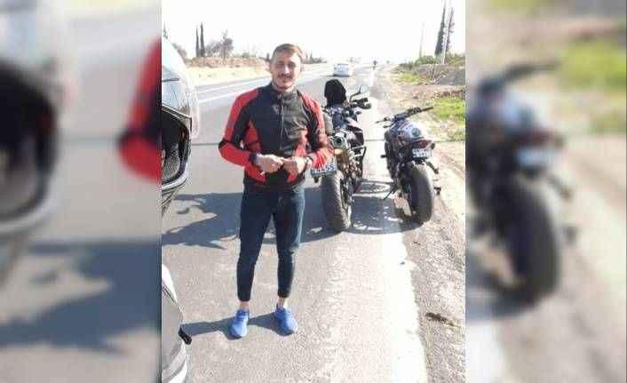 Antalya'da arkadaşına verdiği kaskı ölümüne sebep oldu