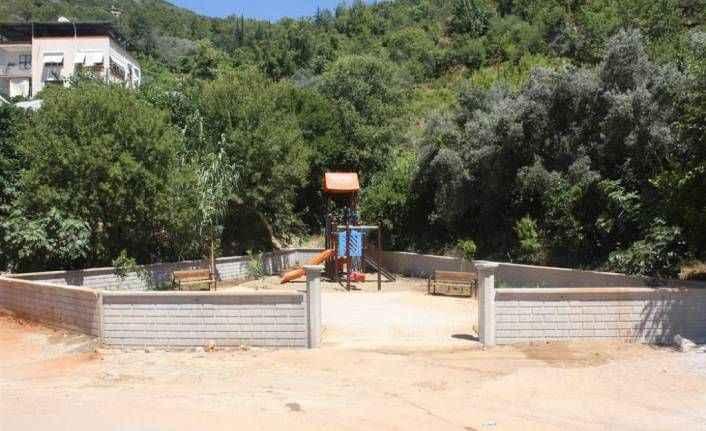 Alanya'da bir çocuk parkı daha