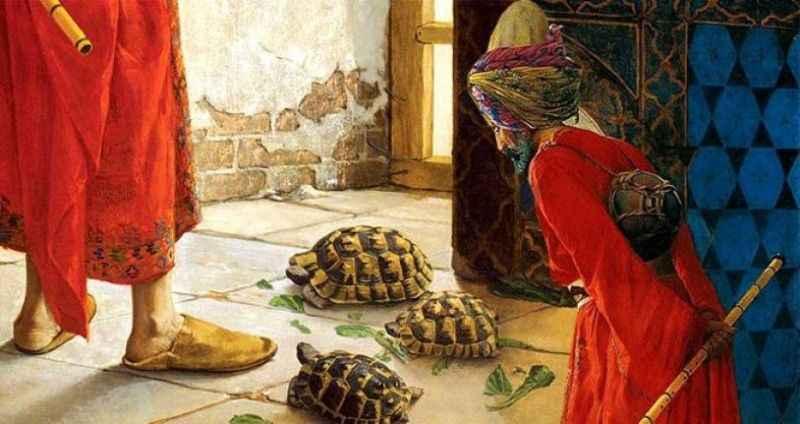 Dünyaca ünlü tablonun hikayesi hayrete düşürdü!