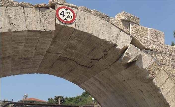 Alanya'nın gözbebeği Dimçayı'nda tarihi köprü restorasyon bekliyor