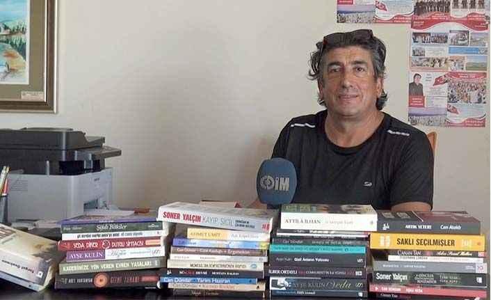 Mahmutlar'dan örnek tablo: Muhtarlık değil adeta kütüphane!
